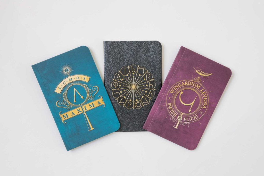 These journals have Harry Potter spells on them