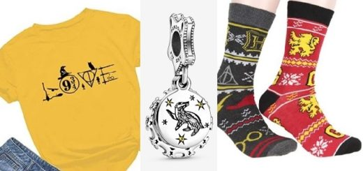 Harry Potter clothing and accessory gift ideas