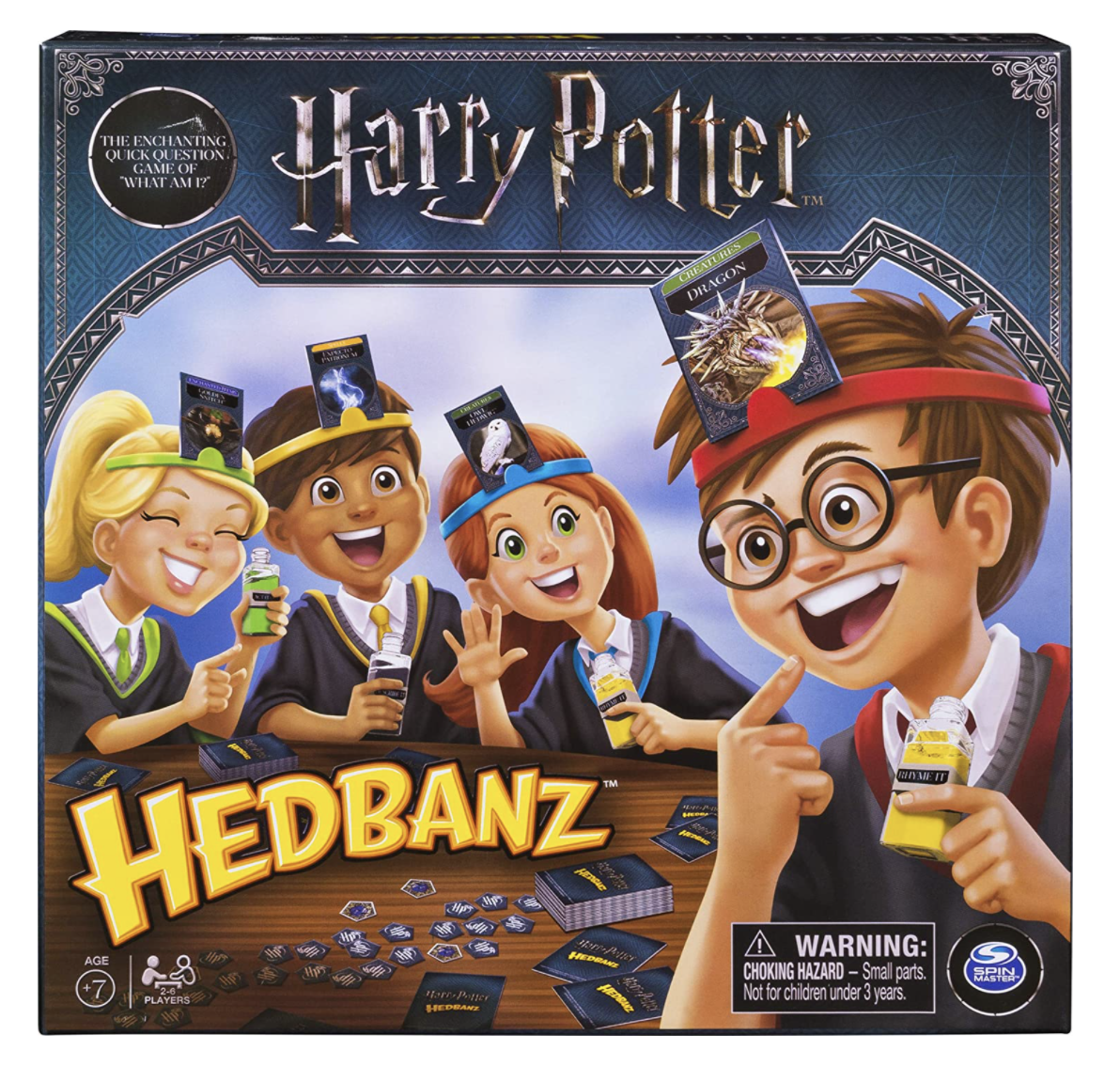 """This is a game of """"Harry Potter"""" Hedbanz"""