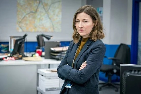 "Kelly Macdonald is featured in a first-look image from Season 6 of ""Line of Duty."""