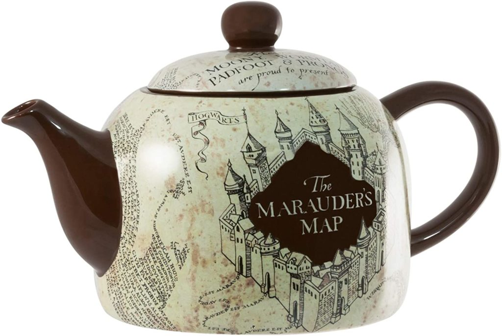 Marauder's Map teapot