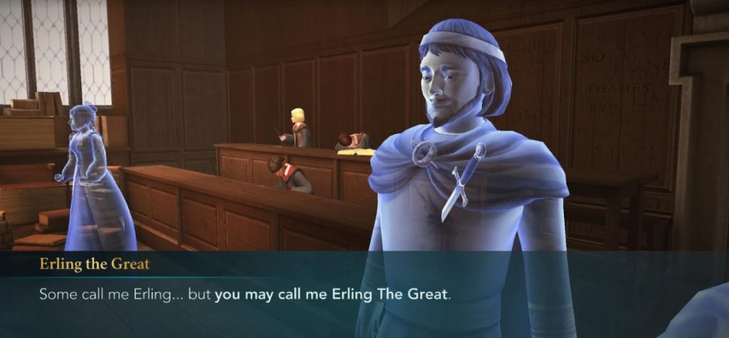 """Erling the Great reminds us that he is, in fact, great in """"Hogwarts Mystery""""."""