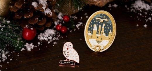 WWD Holiday pins