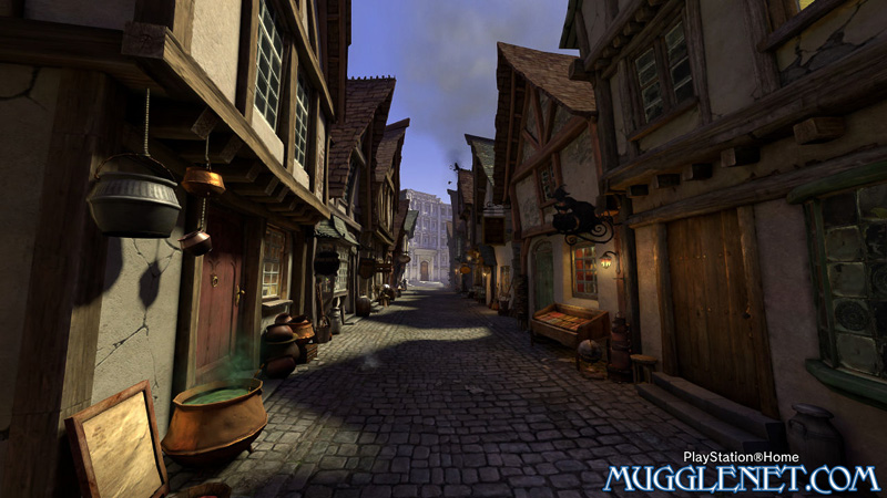Pottermore Playstation Diagon Alley