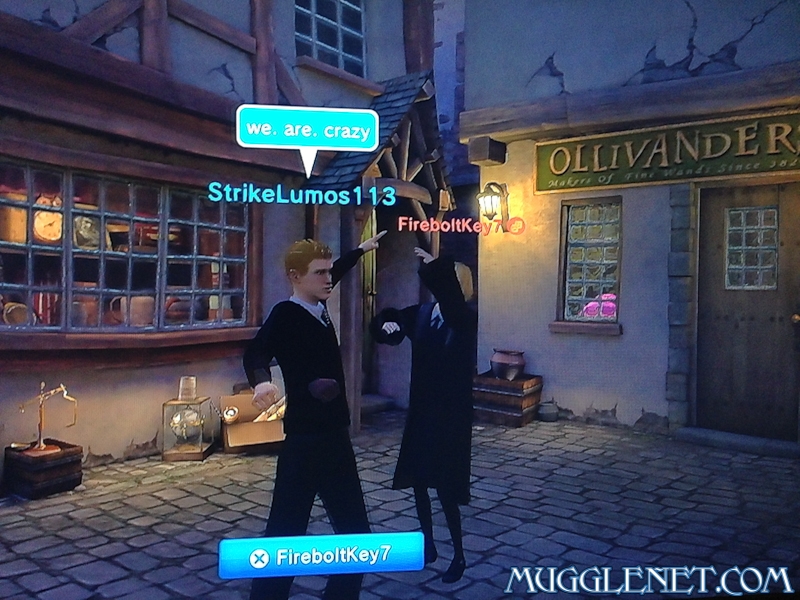 Pottermore playstation Kat and Eric