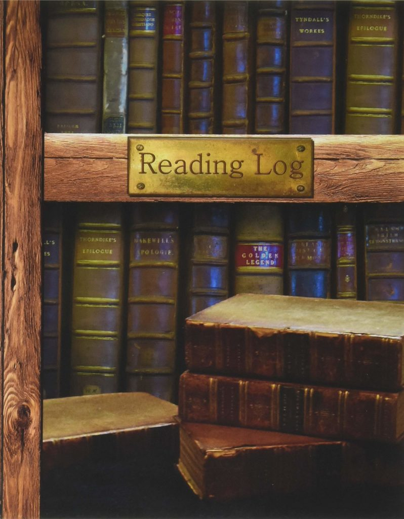 This reading log is a perfect gift for Ravenclaws.