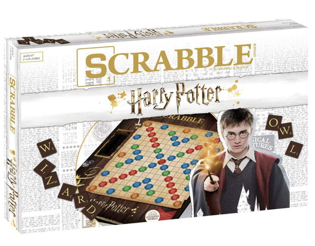 """This is a """"Harry Potter"""" Scrabble game"""