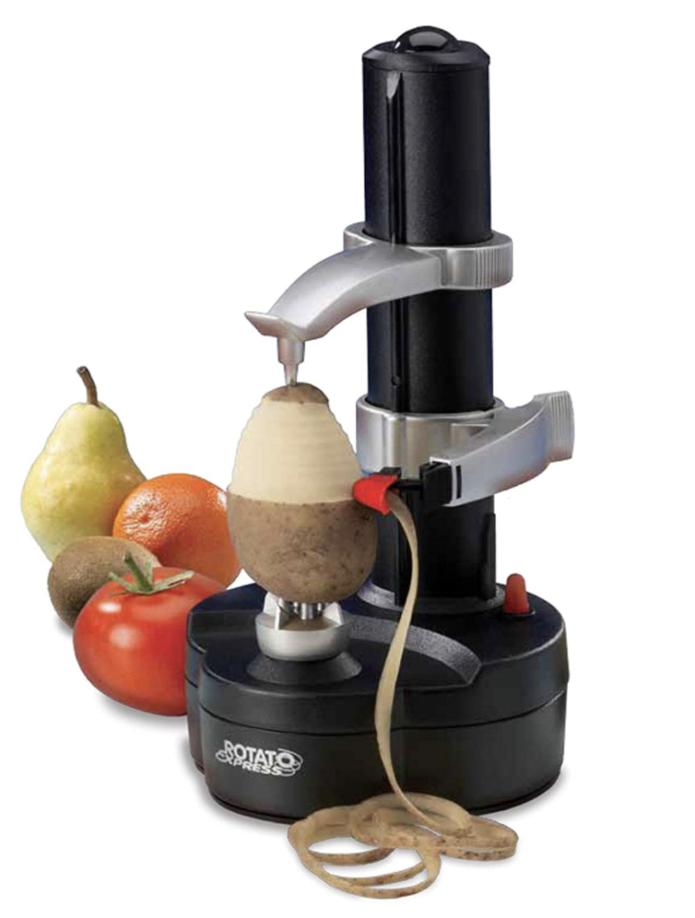 This is an electric potato peeler.