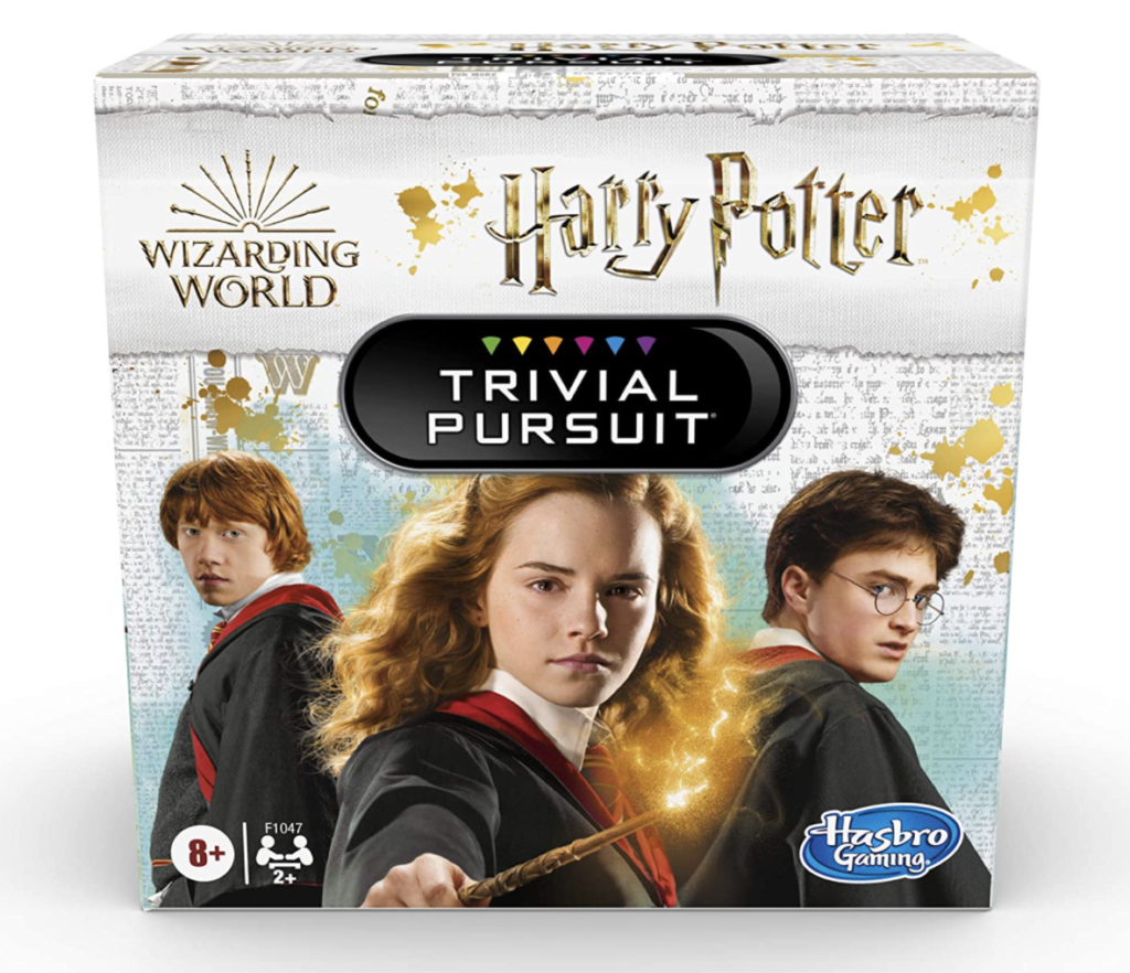This is a game of Harry Potter Trivial Pursuit