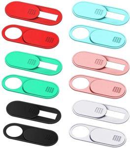 Webcam cover slides