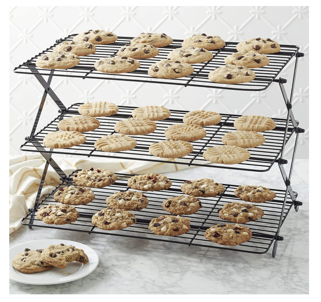 This is a collapsible cookie rack.