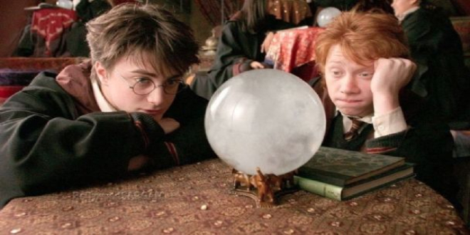 Bored Harry and Ron