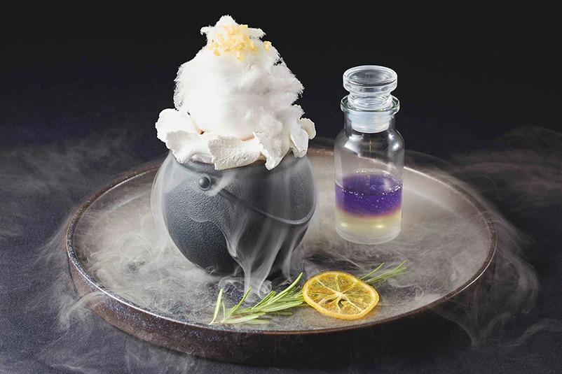 Witch's Pot lemon cake