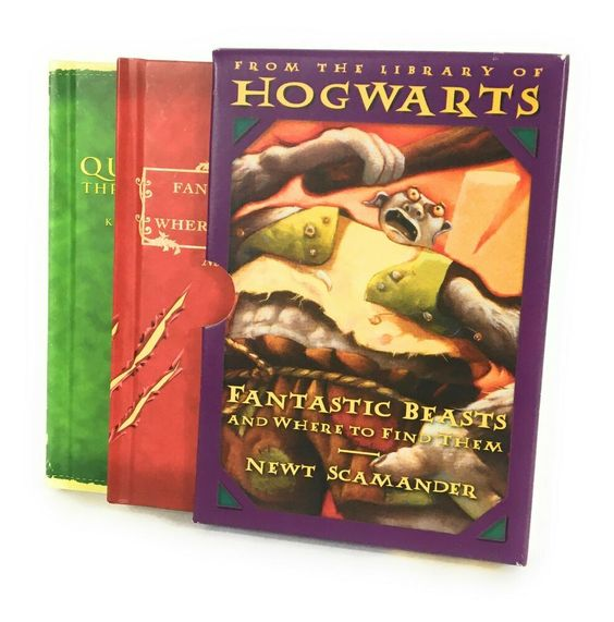 """2006 (""""Fantastic Beasts and Where to Find Them"""" and """"Quidditch Through the Ages"""")"""