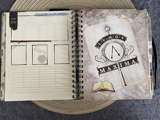 Con*Quest Journal – Lumos Maxima page