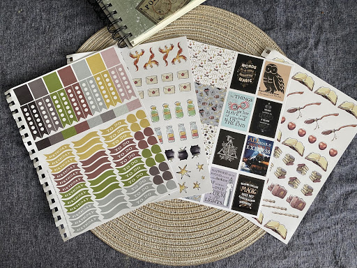 Con*Quest Journal - Sticker sheets