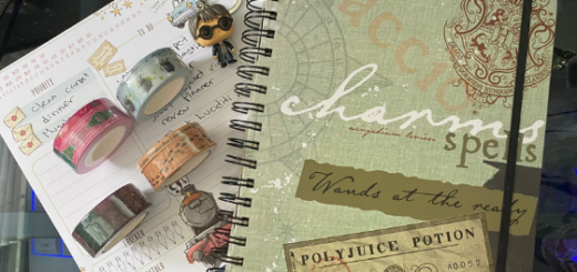 Con*Quest Planner and Washi Tape Featured Image