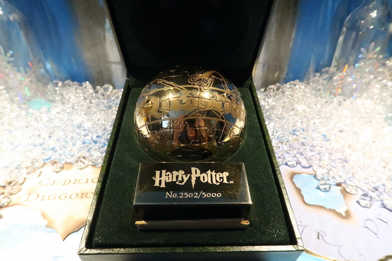 This Golden Snitch puzzle was one of only 5,000 made.