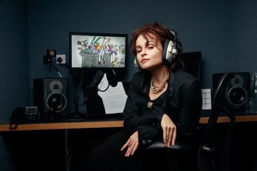 """Helena Bonham Carter records narration for """"Clown."""""""