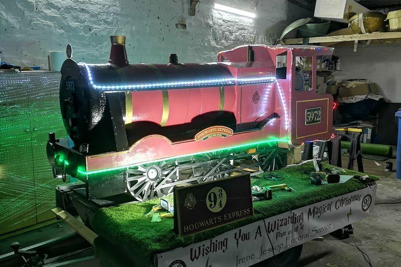 Hogwatrs Express replica in UK