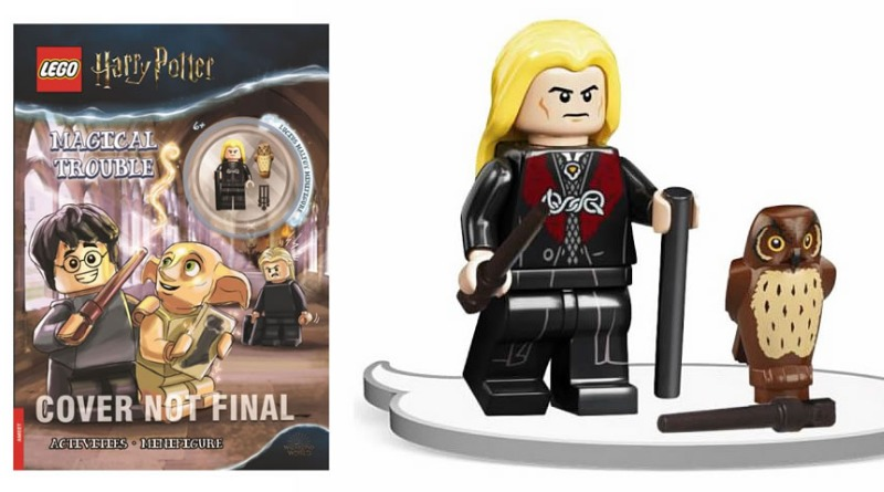 Lucius Malfoy minifigure will be available outside the Diagon Alley LEGO set starting late 2021.