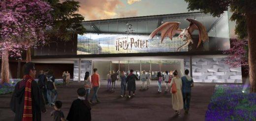 An artist's rendering of Warner Bros. Studio Tour Japan is pictured.
