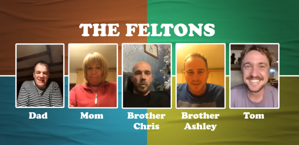 The Feltons get sorted into their Hogwarts Houses.