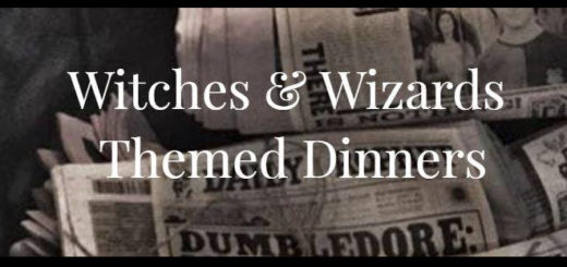 Witches and Wizards Themed Dinners