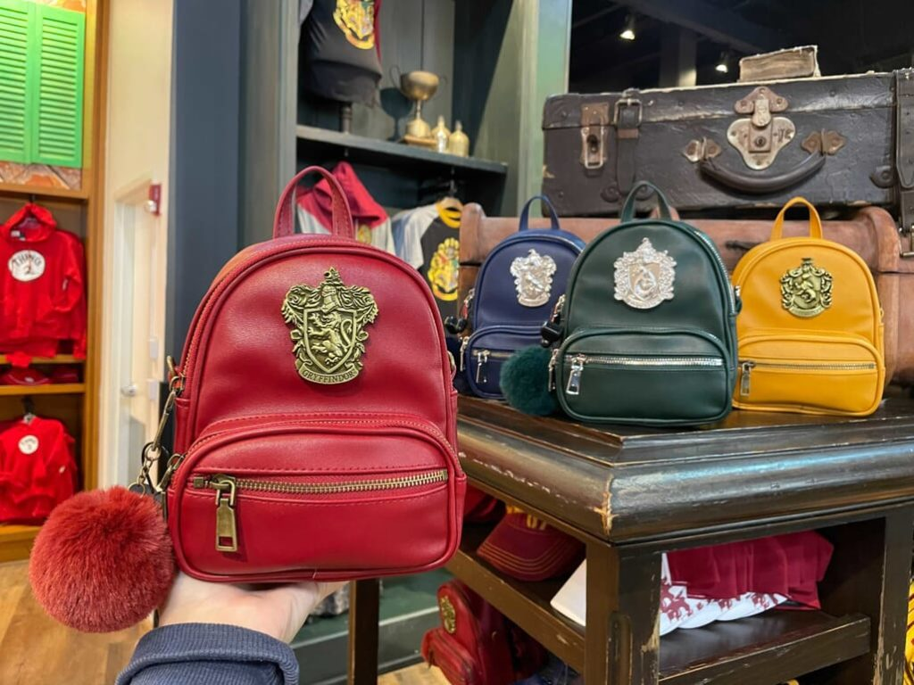 Four new mini House backpacks have made their way into Universal stores.