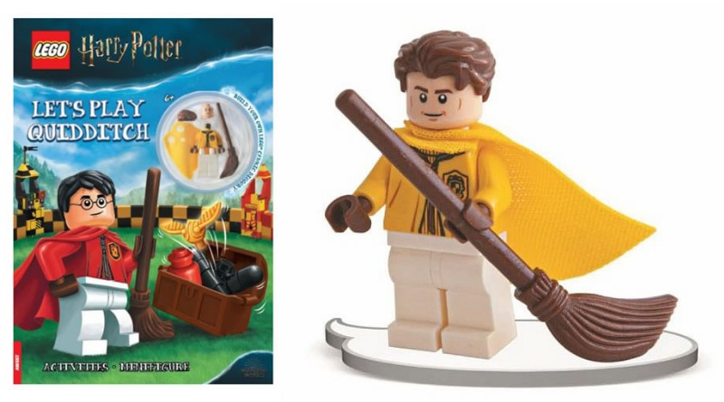 A Hufflepuff quidditch player is being released in early 2021 from LEGO.