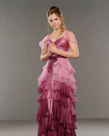 Hermione's dress at the Yule Ball