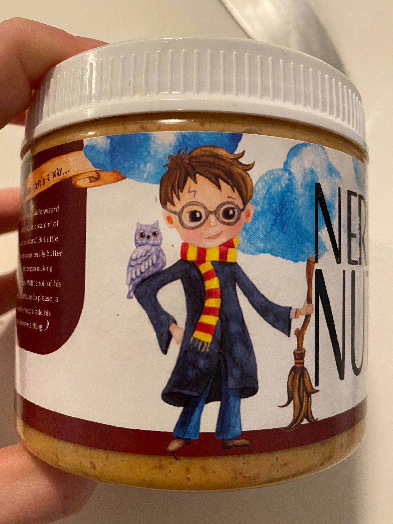 Review: Nerdy Nuts - Butterbeer Peanut Butter