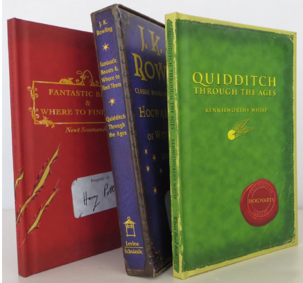"""2001 (""""Fantastic Beasts and Where to Find Them"""" and """"Quidditch Through the Ages"""")"""