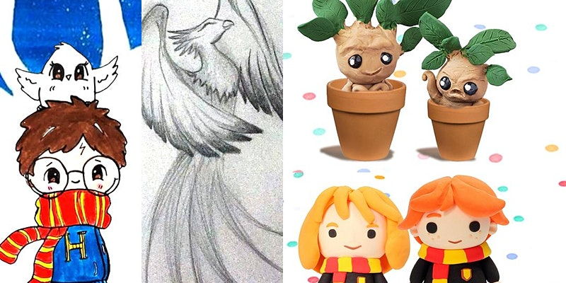 Master your art skills in Harry Potter art club.