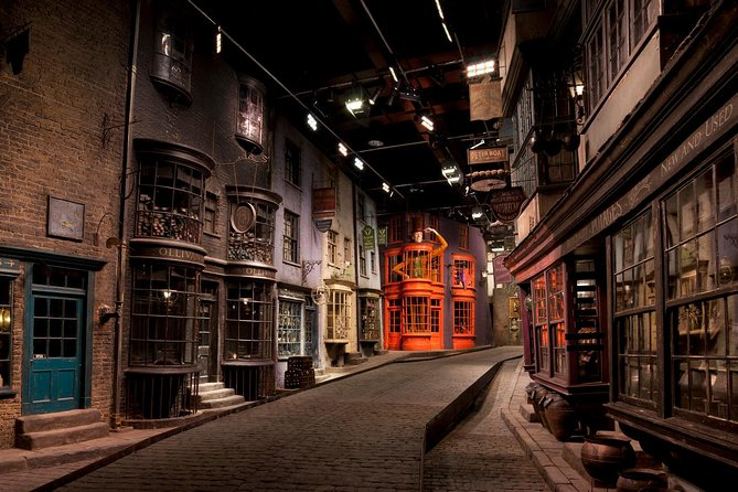 The Diagon Alley replica at the Making of Harry Potter