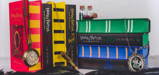 """""""Harry Potter and the Half-Blood Prince"""" House Editions"""