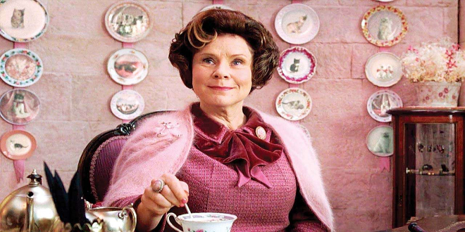 """Imelda Staunton as Dolores Umbridge in """"Harry Potter and the Order of the Phoenix"""""""