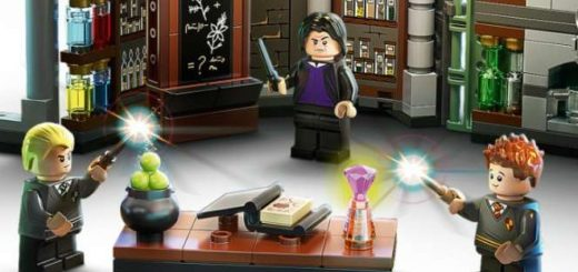 Completed LEGO Potions Classroom