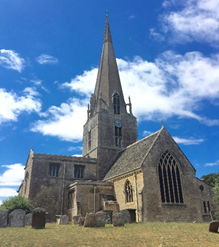 St Mary's Church in Bampton, England