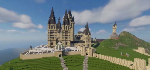 Minecraft Hogwarts by Planet Dragonod