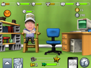 PocketWarwick reading a book while wearing a hat