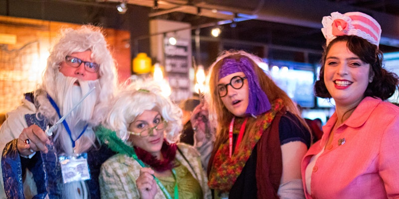 """Join adult wizards for a """"Potter"""" Pub Crawl."""