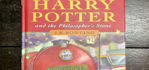 Rare Harry Potter and the Philosopher's Stone First Edition