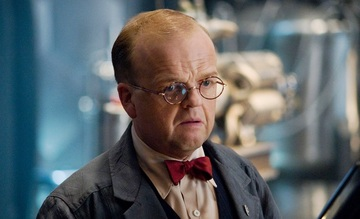 "In the Marvel Cinematic Universe, Toby Jones plays Dr. Arnim Zola in ""Captain America: The First Avenger"" and ""Captain America: Winter Soldier."""