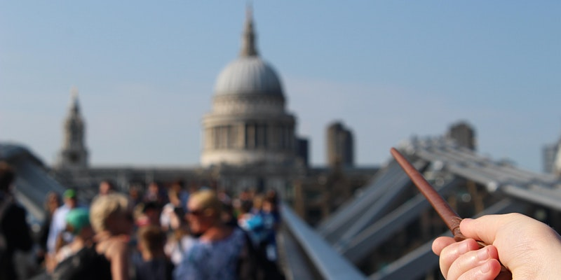 """Enjoy the spectacular views of London while also visiting your favorite """"Harry Potter"""" filming locations."""