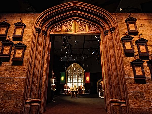 Entrance to the Harry Potter Exhibition in Singapore