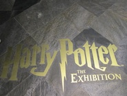 harry potter exhibition singapore poster