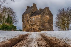 Midhope Castle in Abercorn, Scotland