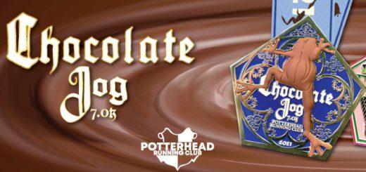 Potterhead Running Club Chocolate Frog 7K