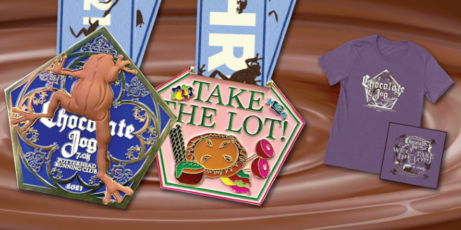 Chocolate Frog 7K Medal and T-Shirt